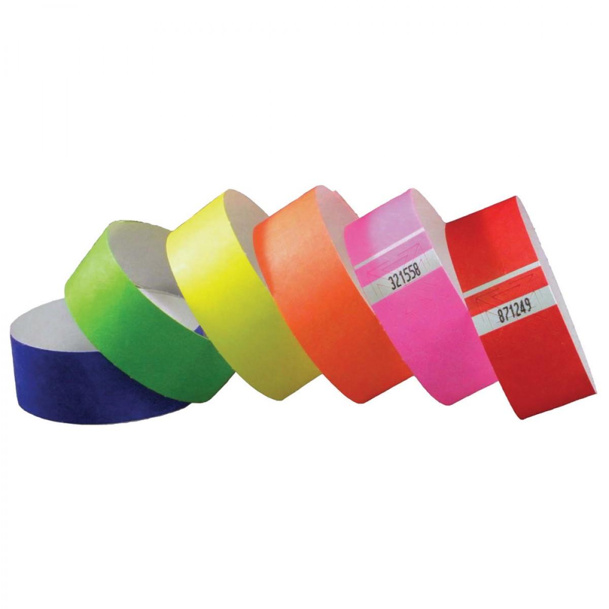 "1"" Tyvek Tab Free Wristbands"
