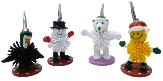 Holiday Friends Ticket Holders (4 pack) Ticket ,Holder, novelty, cheap, gift ,christmas