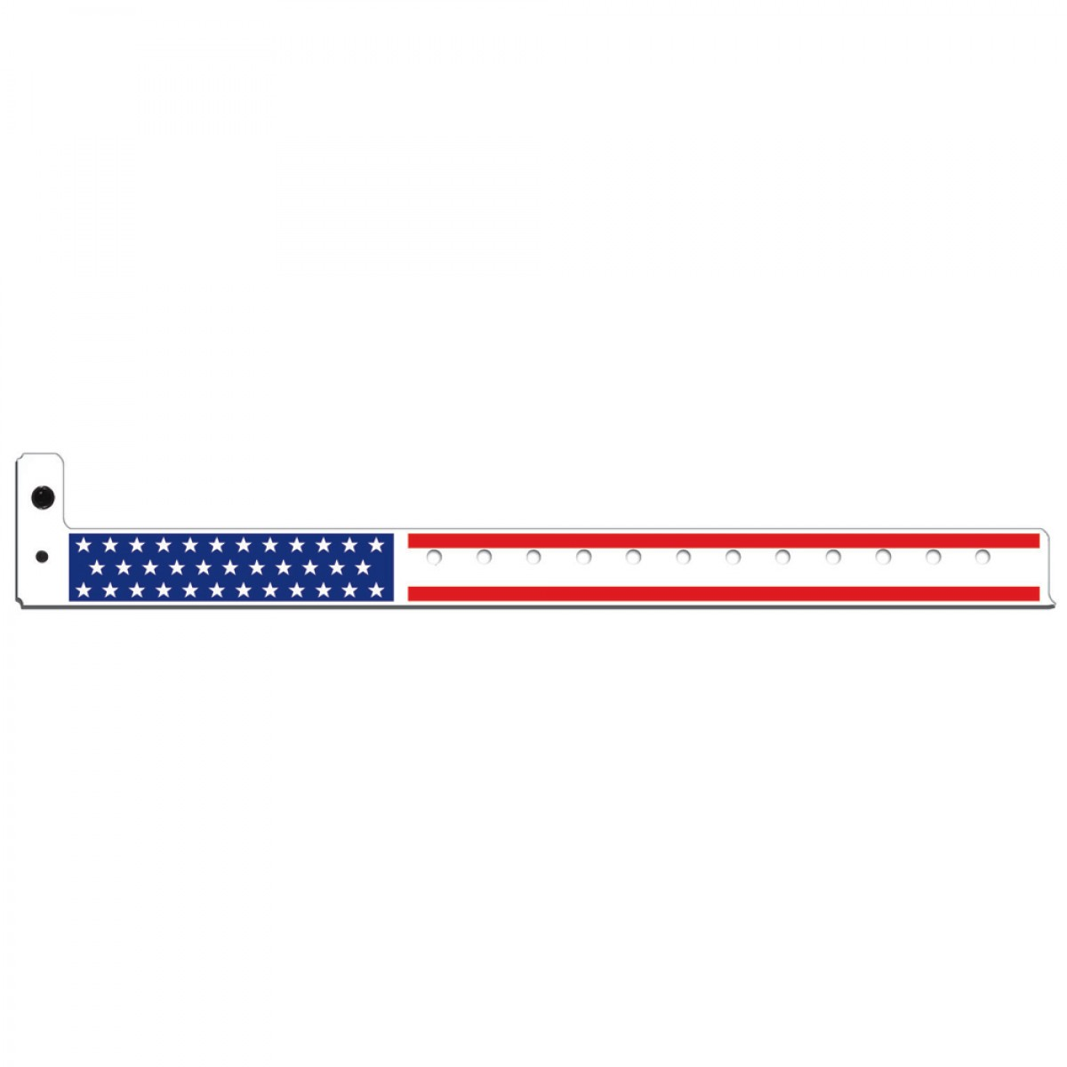 Plastic Stars & Stripes Wristbands