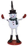 Ticket Holder (Snowman) Ticket ,Holder, novelty, cheap, gift ,christmas