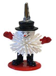Ticket Holder (Snowman Porcupine) Ticket ,Holder, novelty, cheap, gift ,christmas
