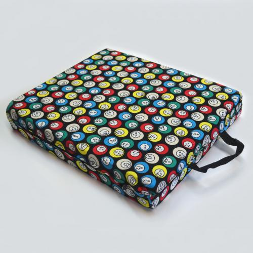 Single Seat Cushion (Bingo Ball)