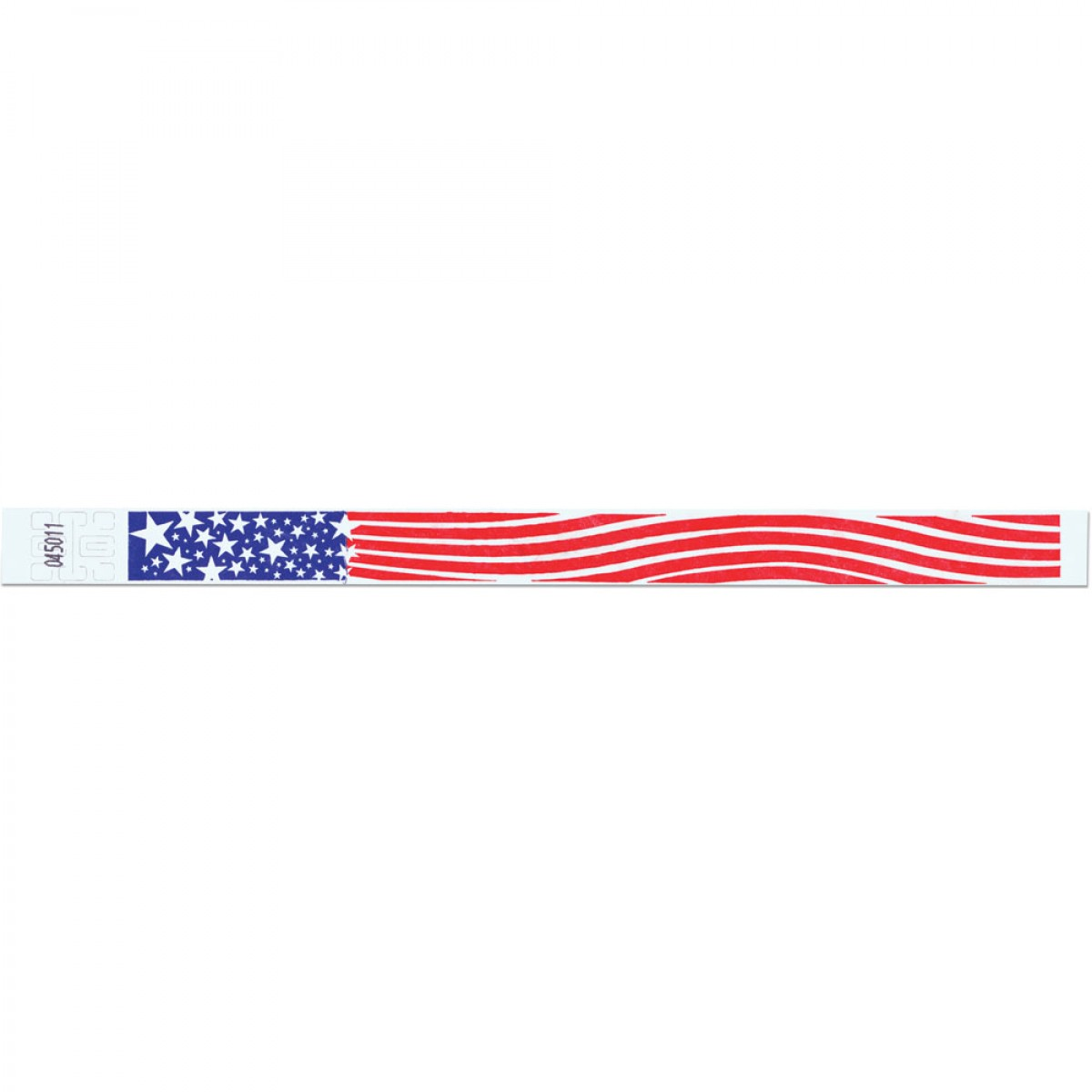Tyvek Patriotic Wristbands