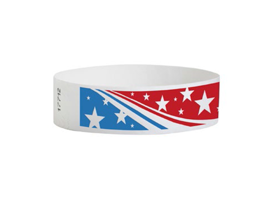 Tyvek Star Stream Wristbands